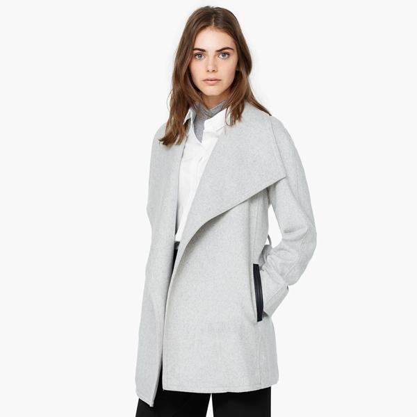 Áo khoác Faux-fur